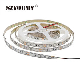 grow light strips UK - wholesale LED Grow Lights DC12V Growing LED Strip 5050 IP20 IP65 Plant Growth Light for Greenhouse Hydroponic Plant 5m lot