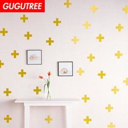resin crosses for Canada - Decorate Home cross cartoon art wall sticker decoration Decals mural painting Removable Decor Wallpaper G-1572