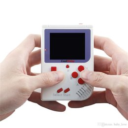 Md Portable Game Australia - CoolBaby Mini Handheld Game Consoles RS-6 Portable Retro Mini Game Console Color LCD 2.5 Inch Screen Player For FC Game