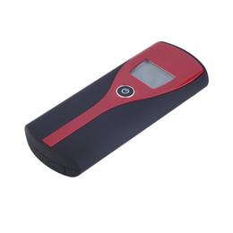 Digital lcD alcohol breath analyzer online shopping - Promotion Professional Pocket Digital Alcohol Breath Tester Analyzer Breathalyzer Detector Test Testing LCD Display Hot
