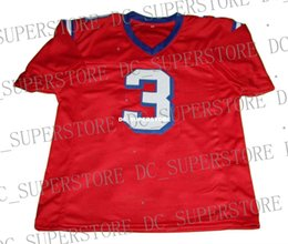 wholesale Nigel Gruff  3 The Replacets Movie New Football Jersey Red  Stitched Custom any number name MEN WOMEN YOUTH Football JERSEY 866e9764e