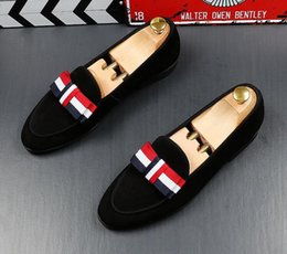 British Hair Styles Australia - Men British style Loafers Doug shoes Top Quality Fashion Forward Pointed Toes casual leather shoes Hair Stylist shoes