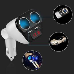 $enCountryForm.capitalKeyWord Australia - New Dual USB Car Charger Cigarette Lighter Double Power Adapter Socket Splitter