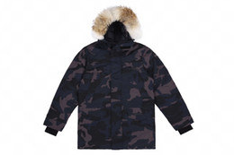 patch products NZ - New products winter new duck down hooded out out clothing high quality couple models luxury fashion fox fur collar thick down jacket