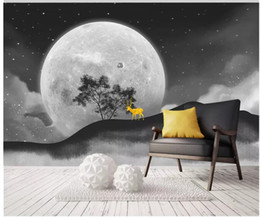 Smoking paintingS online shopping - Modern beautiful starry sky background decorative painting wallpaper for walls d for living room