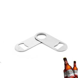 Hanging Steel Bar Australia - Stainless Steel Bottle Opener Hanging Wall Mount Bottle Opener Portable Wine Openers Durable Beer Openers Kitchen Bar Waiter Tool DBC VT1770