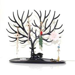 $enCountryForm.capitalKeyWord Australia - Jewelry Organizer Show Rack Jewelry Necklace Ring Earring Tree Stand Necklace Organizer Jewelry Tree Earrings