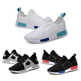 nmd r1 triple black 2019 - New NMD Runner R1 Primeknit Triple black White nmds Xr1 designer Running shoes For Men Women OREO NMDS Runner Sports sne