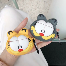 Bears headphones online shopping - For Apple AirPods Wireless Bluetooth Headphone Case Bear Dog Cute Cartoon Earphone Shell Silicone Soft Durable Lovely Anti lost DHL Free