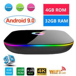 Ip tv box online shopping - Q Plus Smart TV Box Android TV Box GB Ram GB GB Rom K IP TV Allwinner H6 Set Top Box Better RK3328 S905X2
