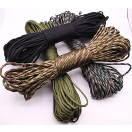 New Camouflage Umbrella Braided Rope Mountaineering Ropes Tent Climbing Survival on Sale