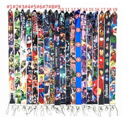 $enCountryForm.capitalKeyWord Australia - Cartoon Cell Phone Lanyard Anime Charms Straps For iPhone 7 8 XS MAX plus mobile card set sling rope DHL 19 Styles