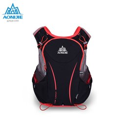 6cfa8215cd AONIJIE 5L Outdoor Sports Backpack Women Men Marathon Hydration Vest Pack  for Exchange Cycling Hiking Water Bag #86692
