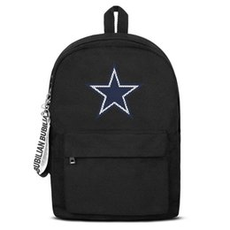 $enCountryForm.capitalKeyWord UK - Dallas Cowboys Mesh design logo Free Shipping Women Men Canvas School Student Durable Travel Backpack Printing Backpack De