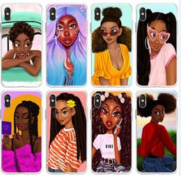iphone girl silver case Australia - Colorful art african girl Printing Special Phone Case Cover For iPhone 11 Pro X XS XR XS Max 8 8plus 7 7plus 6s 6sPlus
