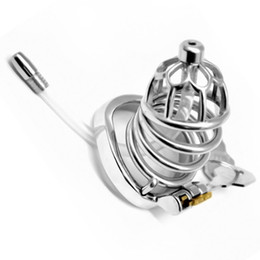 $enCountryForm.capitalKeyWord Australia - 2019 New Male Chastity Device Bondage Penis Cage Cock CB6000 with Catheters Chastity Cage Sex Fetish for Men G7-1-265B