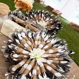$enCountryForm.capitalKeyWord NZ - 10pcs Jute Love Heart Cup Mat Placemat Coasters Burlap Wedding Cutlery Pocket Rustic Wedding Centerpiece Decoration Table Decor