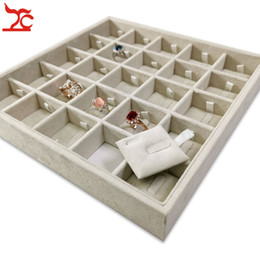$enCountryForm.capitalKeyWord Australia - 25 Grids Ring Tray Drawer Ring Showcase Ring Display for Countertop Exhibition