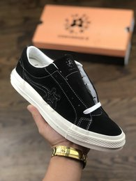 $enCountryForm.capitalKeyWord Australia - Original boxTyler The Creator x One Star Ox Golf Le Fleur Fashion Designer Sneakers TTC Casual Shoes for Skateboarding Sport Shoes Men Women