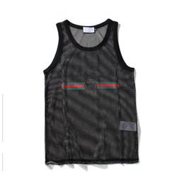 Mens Black Red Tank Top Australia - Men Tank Top Mens Sport Bodybuilding Brand Gym Clothing Designer Women Vests Tee Luxury Summer Tops Size M-XXL