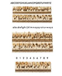 Benutzerdefinierte Stamping Mould-Name-Hitze-Presse-Maschine Messing Customized Logo auf Wallet-Schuhe aus Leder aus Holz Hot Folie Papier Stempel Alphabet im Angebot