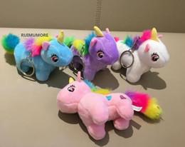 Media Keys Australia - Nice toy Cute Medium 10CM Approx. 4Colors- Unicorn Stuffed Animal Plush Toys Gift key chain Plush DOLL TOY