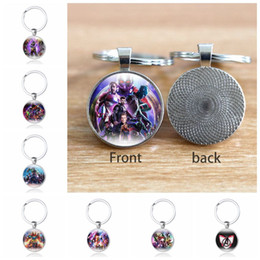 Silver Favor Bags Australia - 10 Style Avengers Endgame Keychain Avengers 4 Key Ring Captain Marvel Iron Man Thor Thanos Bag Pendant Party Favor CCA11673 100pcs