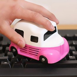 mini vacuum cleaner for pc NZ - New Fashion Mini Car molding Vacuum Cleaner Dust Collector For Computer PC Desktop Keyboard Cleaning Brush Y200320