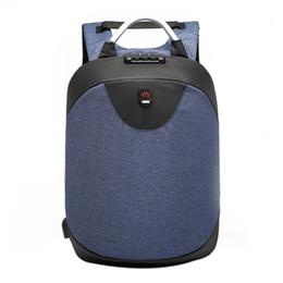 Man travelling bag back online shopping - 15 inch Laptop Blue backpack men Waterproof Mochila Casual Travel Business USB Back pack Male Bag Anti theft Gift