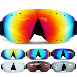 Girls Ski Goggles Australia - Children Snowboard Snow Ski Goggles Anti Fog UV400 Winter Kids Ski Glasses Goggles Outdoor Riding for Boys Girls