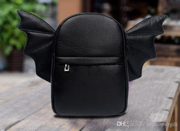$enCountryForm.capitalKeyWord Australia - Popular Wold Novel Fashion Wings School Backpacks New Style women's Travel Small Bag