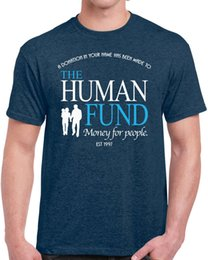 Ship funding online shopping - 456 The Human Fund Mens T shirt funny seinfeld george costanza money for people Funny Unisex Casual