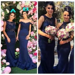073e5e86e9f Discount long fishtail bridesmaid dresses - 2019 Off Shoulder Lace  Appliques Mermaid Bridesmaids Dresses Beading Sequins