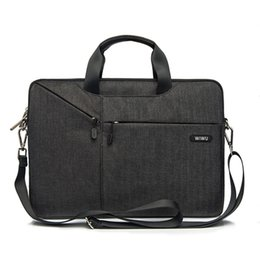 Acer Hp Laptops China Australia - Laptop Bag Case 15.6 15.4 14.1 13.3 17.3 Messenger Bags for MacBook Air 13 Case Waterproof Notebook Bag for MacBook Pro 15