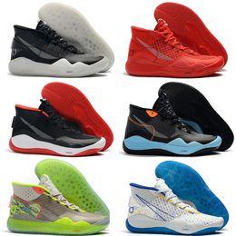 f9503b8e88d Mvp Basketball Shoe NZ - 2019 Mens KD 12 Basketball Shoes mvp Black White  Silver Gold Find Similar