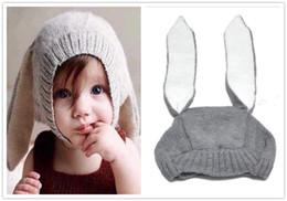 $enCountryForm.capitalKeyWord Australia - Cute Rabbit Ears Kids Baby Boy Girl Warm Beanie Infant Toddler Knit Hat Cap Hot Sale