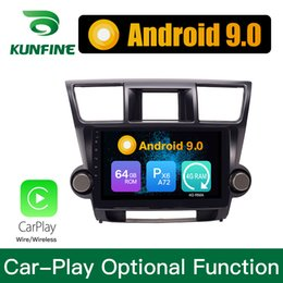 $enCountryForm.capitalKeyWord Australia - Android 9.0 Ram 4G Rom 64G PX6 Cortex A72 Car DVD GPS Multimedia Player Car Stereo Navigetion For Toyota Highlander 2009-2013 Radio