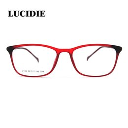 1504ba7b7b4 Lucidie Fashion Women Glasses ultem Frame Vintage Eyeglasses Frames Men  Retro Round Clear Lens Optical Spectacles