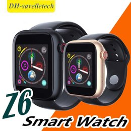 $enCountryForm.capitalKeyWord Australia - Hot z6 Smart Watch with Camera Touch Screen Support SIM TF Card Bluetooth Smartwatch for Android IOS