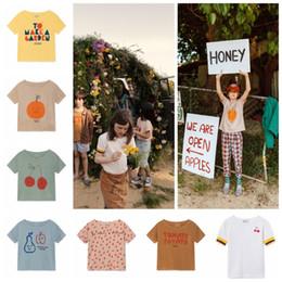 Girls Vest Shirt Australia - Boys T Shirt Kids T-shirts 2019 Ss Girls Tops Short Sleeve T Shirts Summer Tees Stripe Beach Vest Children Clothing J190511