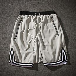 Mens Black Khaki Shorts Australia - Vintage Shorts Men Casual Sweatpants Elastic Waist Red Green Shorts Male Khaki Corrida Men Trousers Mens Jogger S6T73