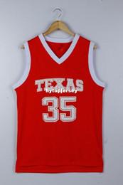 $enCountryForm.capitalKeyWord Australia - Texas Longhorns Kevin Durant 35 College Retro Top stitched basketball jerseys - Burnt Orange XS-6XL vest Jerseys NCAA