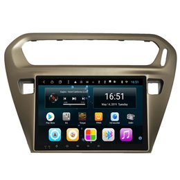 $enCountryForm.capitalKeyWord Australia - Android 9inch 8-core for peugeot 301 2014-2016 Car bluetoooth fast delivery mp3 mp4 music player WIFI pricise GPS Navigation Head Unit