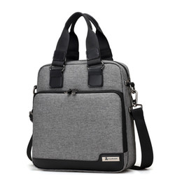$enCountryForm.capitalKeyWord Australia - New men's bag men's handbag vertical business briefcase shoulder slung Oxford bag fashion men backpack frete gratis
