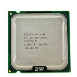 Intel 775 Processors Australia - Intel core 2 quad Q6600 2.4GHz Quad-Core FSB 1066 Desktop LGA 775 CPU Processor