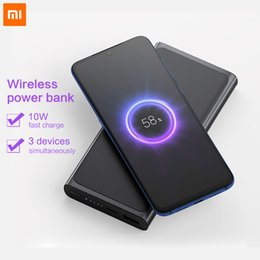$enCountryForm.capitalKeyWord Australia - Original Xiaomi PLM11ZM Wireless Power Bank 10000mAh in stock!!! Wireless Charger with USB Type C for Mobile Phone