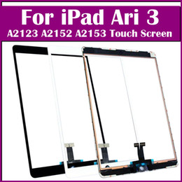 apple ipad touch tablet UK - 100% tested Touch Screen Glass Panel with Digitizer Replacement For iPad Air 3 2019 A2123 A2152 A2153