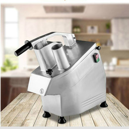 multi slicer Australia - 220V Desktop electric Vegetable Slicer For Restaurant Kitchen Multi-function Vegetable Cutter Machine Commercial Grater Slicer