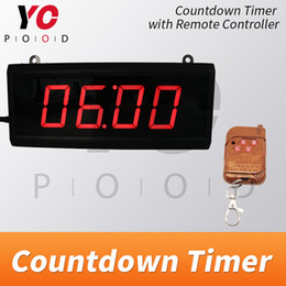 escape game props Canada - LED Countdown timer Room escape game props four digits display discreen wireless users can set time real life supplier YOPOOD