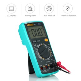 temperature tester Australia - Temperature Instruments LCD Digital True RMS Multimeter Detector DC AC Voltage Current Meter Capacitance Resistance Diode Tester